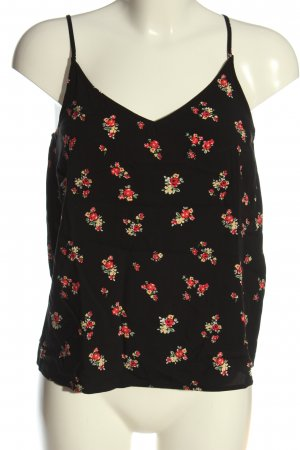 Even & Odd Cut Out Top flower pattern casual look