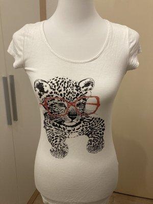 Even & Odd Print Shirt white