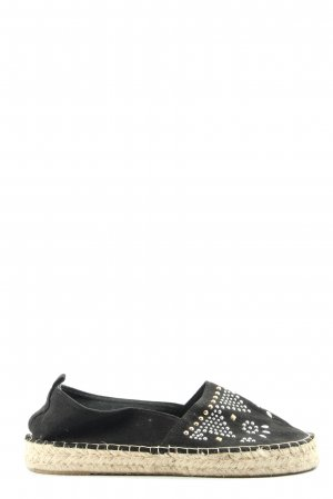 Even & Odd Espadrille Sandals black casual look