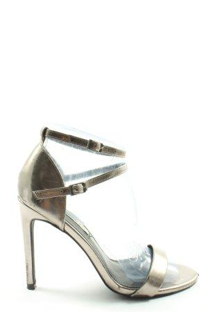 Even & Odd High Heel Sandaletten goldfarben Elegant