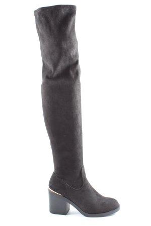 Even & Odd Botas de tacón alto negro look casual