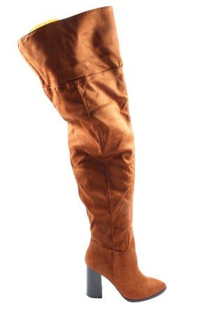 Even & Odd High Heel Stiefel hellorange Casual-Look