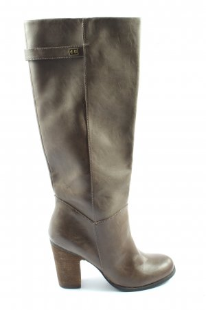 Even & Odd High Heel Boots brown casual look