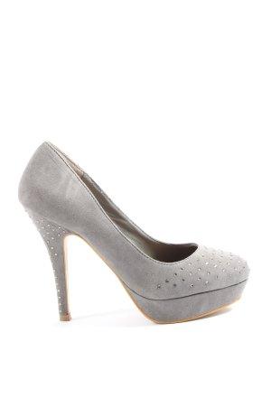 Even & Odd High Heels light grey elegant