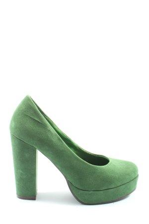 Even & Odd High Heels grün Elegant