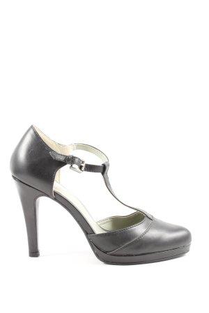Even & Odd High Heels schwarz Business-Look