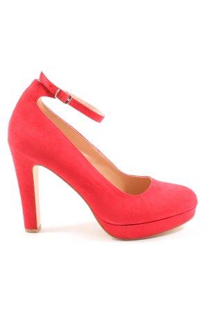 Even & Odd High Heels rot Casual-Look
