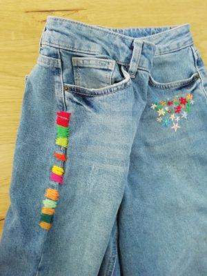 Even & Odd Jeans a vita alta blu