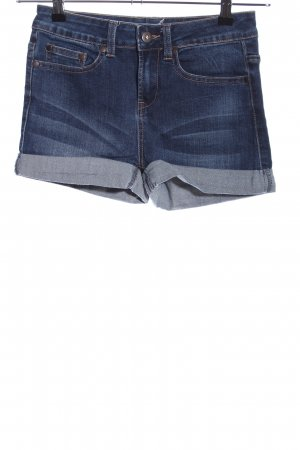 Even & Odd Jeansshorts blau Casual-Look
