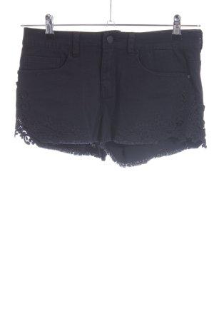 Even & Odd Spijkershort zwart casual uitstraling