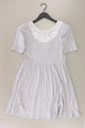Even & Odd Jerseykleid Größe M Kurzarm grau aus Baumwolle