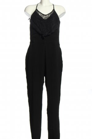 Even & Odd Jumpsuit schwarz Webmuster Casual-Look