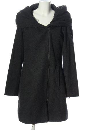 Even & Odd Hooded Coat black casual look