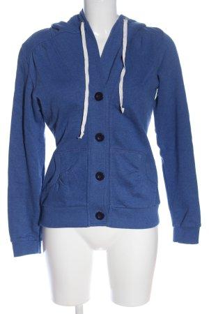 Even & Odd Bluza z kapturem niebieski W stylu casual