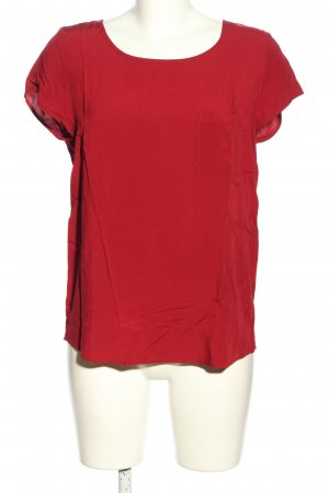 Even & Odd Kurzarm-Bluse rot Casual-Look