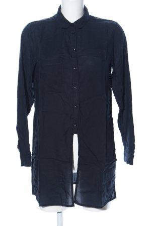 Even & Odd Langarm-Bluse blau Casual-Look