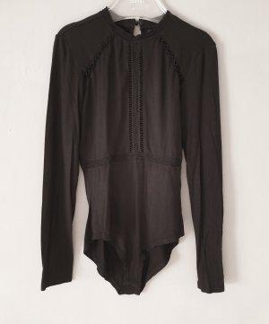 Even & Odd Shirt Body black viscose
