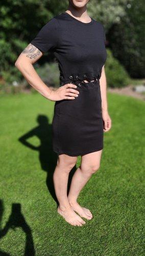 even & odd Mini Kleid, schwarz, Gr. 38