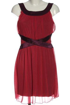 Even & Odd Minikleid rot Elegant