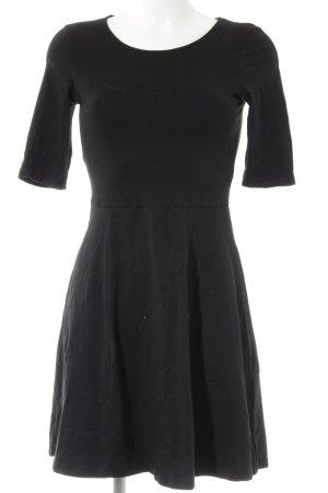 Even & Odd Minikleid schwarz schlichter Stil
