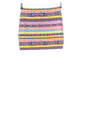 Even & Odd Mini rok abstract patroon casual uitstraling