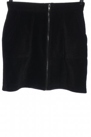 Even & Odd Mini rok zwart gestreept patroon casual uitstraling