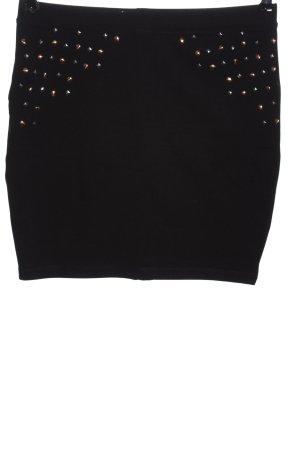 Even & Odd Mini rok zwart casual uitstraling
