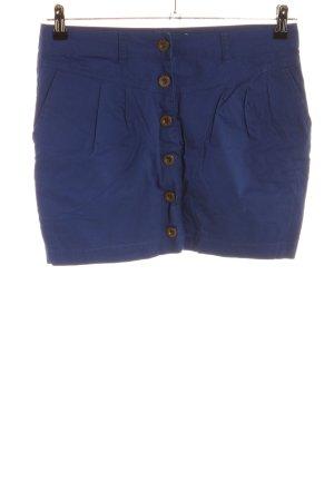Even & Odd Mini rok blauw casual uitstraling