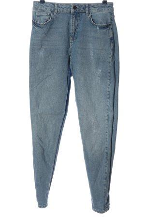 Even & Odd Mom-Jeans blau Casual-Look