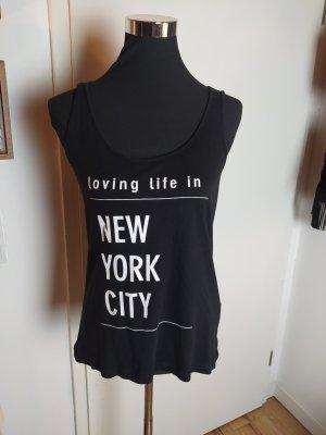 EVEN & ODD New York Top, S wie 36, schwarz