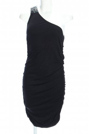 Even & Odd One Shoulder Dress black elegant
