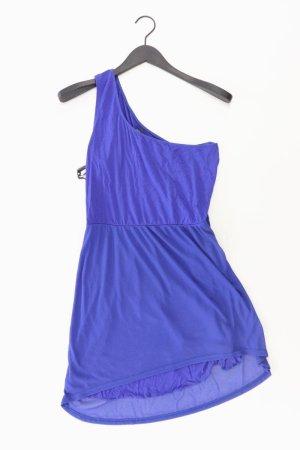 Even & Odd Robe asymétrique bleu-bleu fluo-bleu foncé-bleu azur viscose