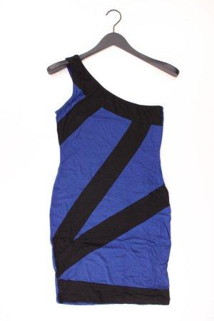 Even & Odd One Shoulder Kleid Größe S Träger blau aus Viskose