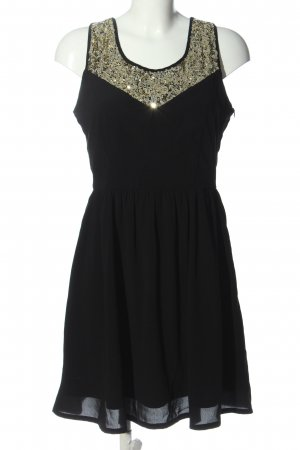 Even & Odd Pailettenkleid schwarz Elegant
