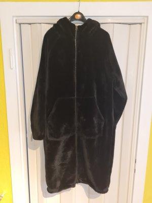 Even&Odd Curvy Manteau polaire noir