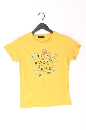 Even & Odd Print Shirt yellow-neon yellow-lime yellow-dark yellow cotton