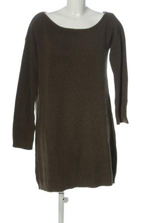 Even & Odd Pulloverkleid braun Casual-Look