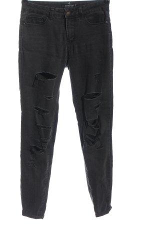 Even & Odd Jeans a sigaretta grigio chiaro stile casual