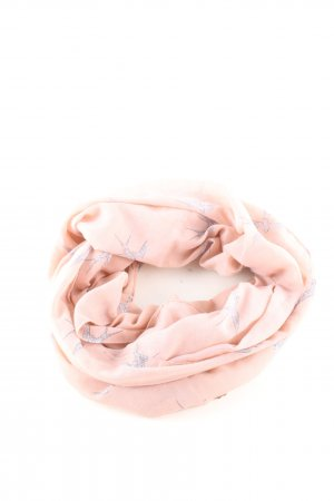 Even & Odd Snood cream-light grey animal pattern business style