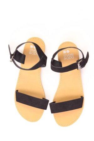 Even & Odd Sandalen Größe 39 neuwertig schwarz