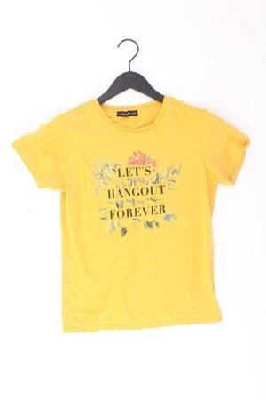 Even & Odd Shirt Größe 36 gelb aus Baumwolle