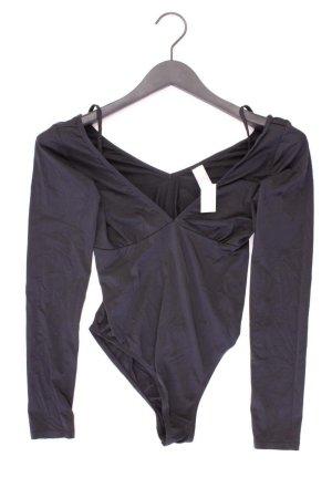 Even & Odd Shirt mit V-Ausschnitt Größe M Langarm schwarz aus Polyamid