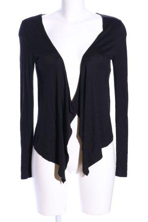 Even & Odd Chaqueta estilo camisa negro look casual