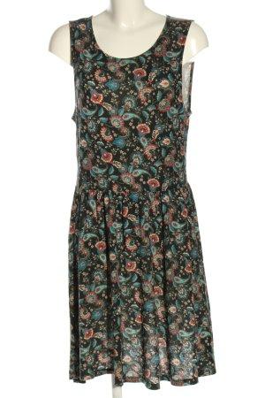 Even & Odd Shirt Dress mixed pattern casual look