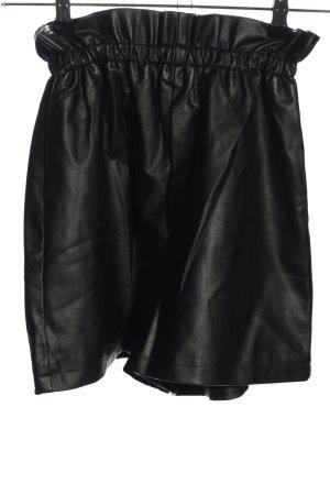 Even & Odd Shorts schwarz Glanz-Optik