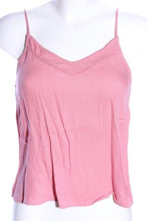 Even & Odd Top de tirantes finos rosa look casual