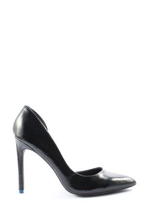 Even & Odd Spitz-Pumps schwarz Elegant