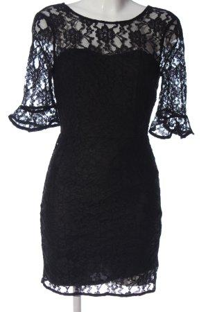 Even & Odd Spitzenkleid schwarz Elegant