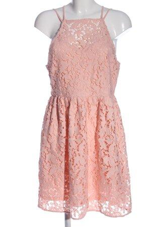 Even & Odd Spitzenkleid pink Webmuster Casual-Look