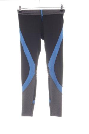 Even & Odd Pantalone da ginnastica motivo a righe stile atletico